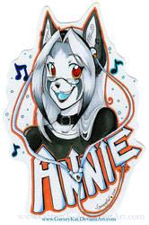 + Annie + Badge for Jesonite by GaruryKai