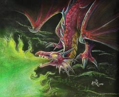 : Sketchy dragon : by GaruryKai