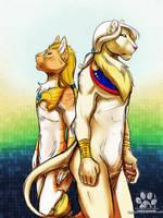 :Both sides of me: by GaruryKai