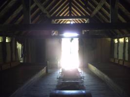 Viking Longhouse interior. by Iglybo