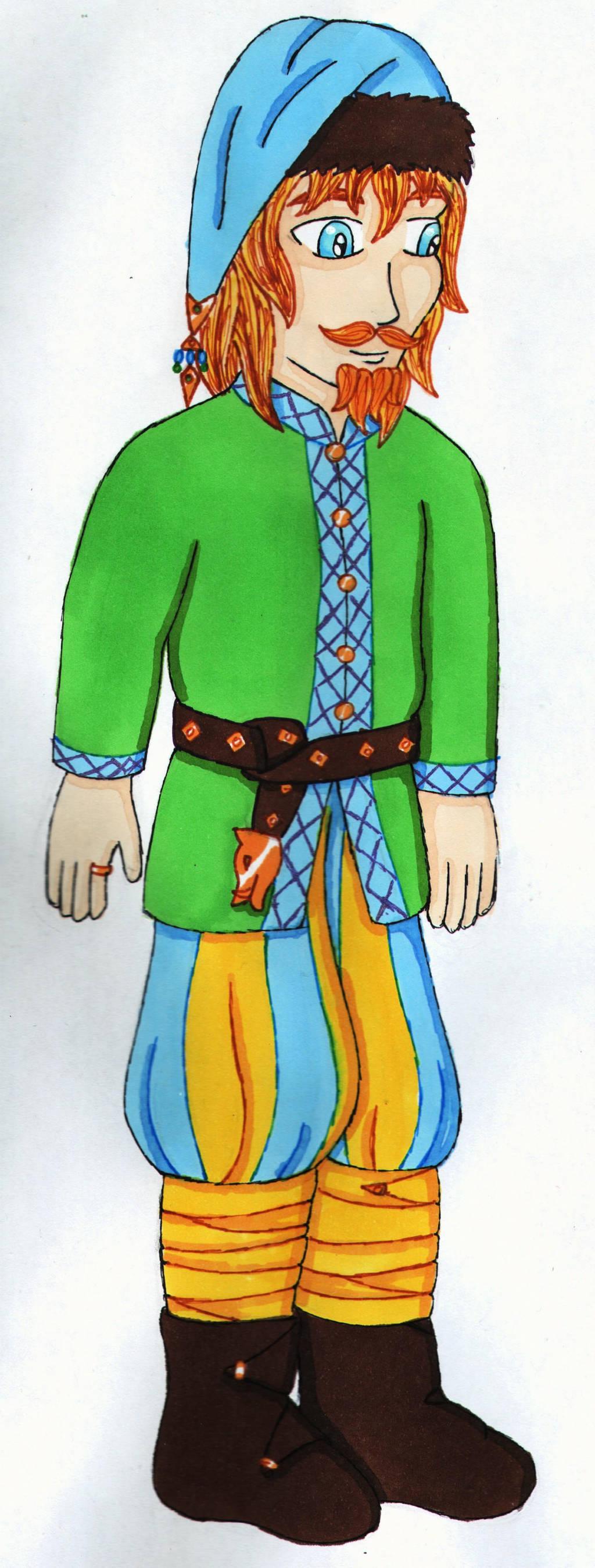 Freyr of the floppy hat. XD by Iglybo