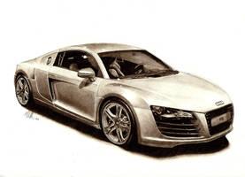 Audi R8 by tin23uk