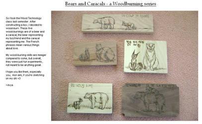 Woodburnings by Zhellana