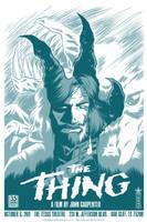 John Carpenter's The Thing by robertwilsoniv
