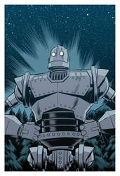 The Iron Giant by robertwilsoniv