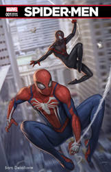 Spider-Men (Fanart Cover) by SamDelaTorre
