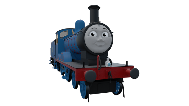 Edward the Blue Engine by TheChairmaster