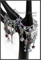 Water fairy earrings by Faeriedivine