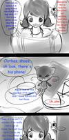 Ep.:Copycat: Alternate locker scene: WHAT IF. by IIJaweenaII
