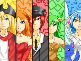 EBF-Team and Phyrnna by SunnyTheSunFlower