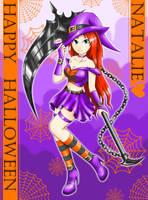 EBF Natalie the witch by SunnyTheSunFlower