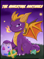 Fanart: Spyro 20th by JaredSteeleType