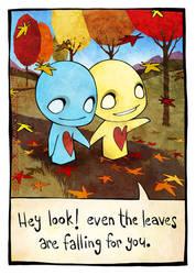 Fall by azuzephre