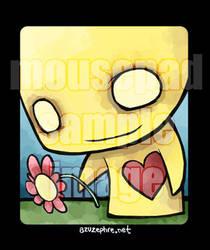 Pon Mousepad2 by azuzephre