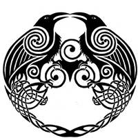 a Spin on an old raven Tatt by Dawbun