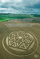 Crop Circle Hackpen Hill Wiltshire. by R71