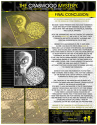 The Crabwood Alien Disc Crop Formation Mystery. by R71