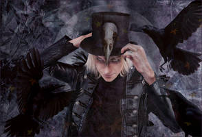 El Rey Cuervo  (The Raven King) by Karyl-Delta