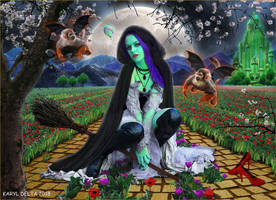 The Wicked Witch Of The East by Karyl-Delta