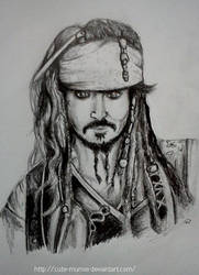 Jack Sparrow by cute-MuMie