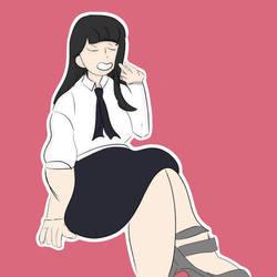 Satoko by meganemittens