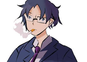 Hirotaka #1 by meganemittens