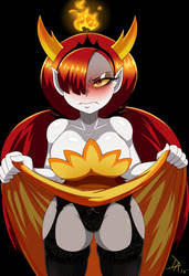 Hekapoo disgusted  by Dalley-Le-Alpha