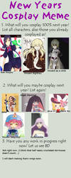 Next Year's cosplay meme by Miukkeli