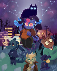 NIGHT IN THE WOODS ZINE RELEASE by dongoverlord