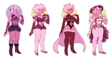 pink diamond redesigns by dongoverlord