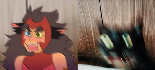 catra meme redraw by dongoverlord