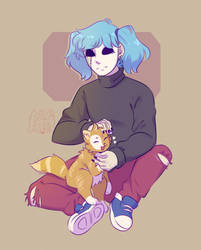 sal and gizmo [ sally face ] by dongoverlord