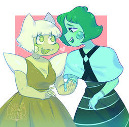 the new gfs...... [ steven universe ] by dongoverlord