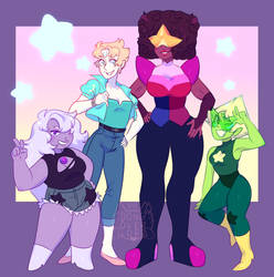 NEW GEM OUTFITS by dongoverlord