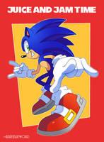 Loose Cannon Hedgehog by AzureBlueWorld