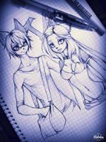 xXAlaisha and TadeoXx by AlaishaTheWolf