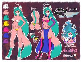 .:Alaisha New Reference:. by AlaishaTheWolf