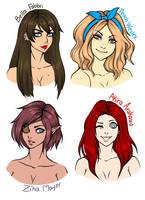 .:My Girls:. by AlaishaTheWolf