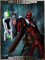 Deadpool by ZeroEnd