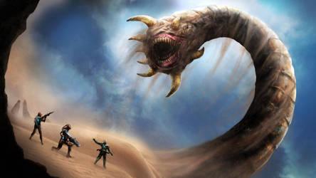 Sandworm by AyarnE