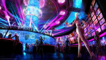 Scifi Club Euphoria by AyarnE