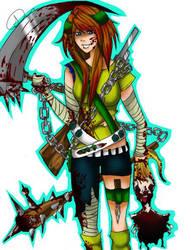 Armin: Zombie Slayer by chinuyasha500