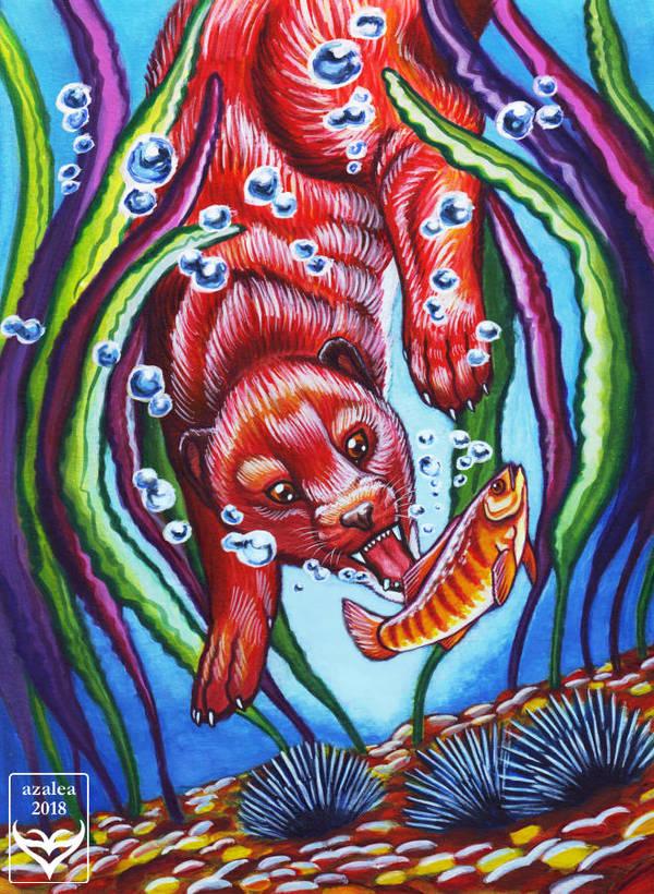 Sea Mink by arsnoctu