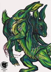 Hares by arsnoctu