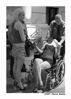 wheelchair hook-ah... by cweeks