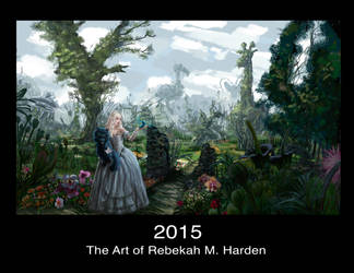 The Art of Rebekah M. Harden 2015 Calendar by TheOneiroi