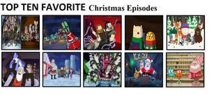 Top Ten Favorite Christmas Episodes by mlp-vs-capcom