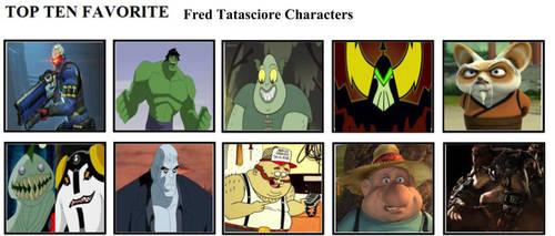 Top Ten Favorite Fred Tatasciore Characters by mlp-vs-capcom