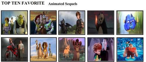 Top Ten Favorite Animated Sequels by mlp-vs-capcom