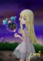 Lillie Pokemon SM by samxi